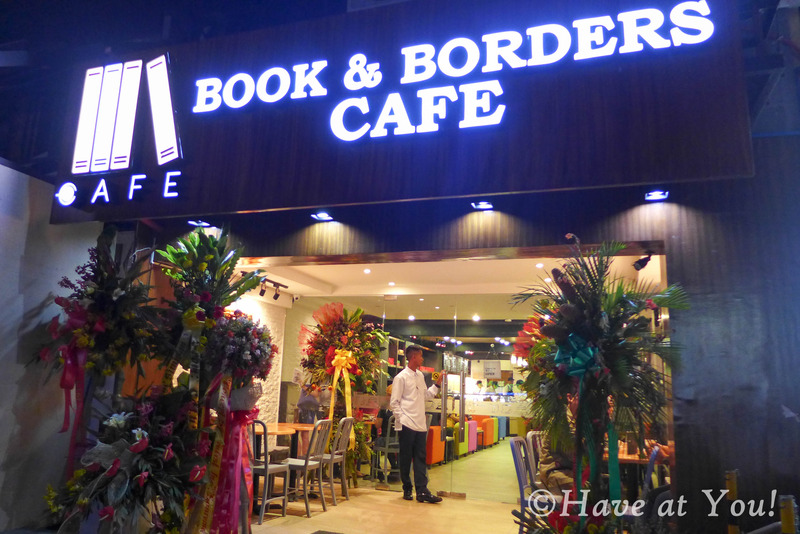 Books and Borders Cafe storefront