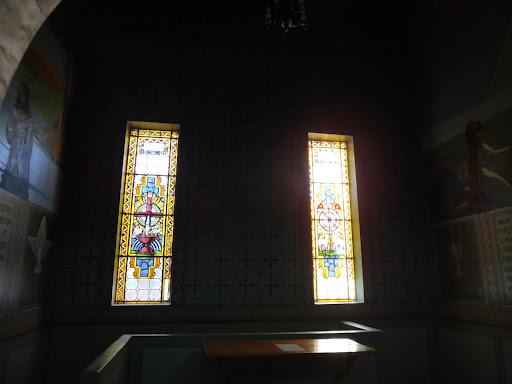 Vitrais da Capela do Batistério