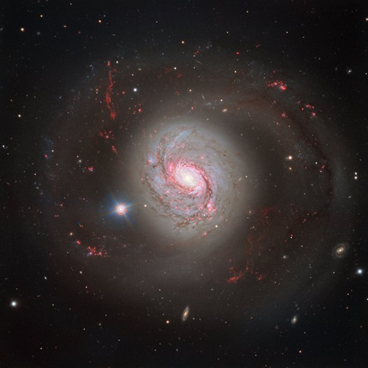 Dazzling galaxy Messier 77