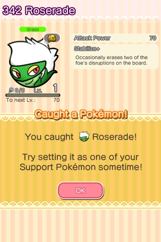 Pokemon light platinum evolution roserade
