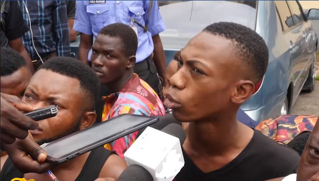 'I Am Not Gay' - 20-Year-Old HIV+ Suspect Arrested In Lagos Hotel. Photos