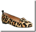 Office leopard print loafers