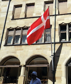 the Danes aren't known for being overly prideful but that's a HUGE flag anyway