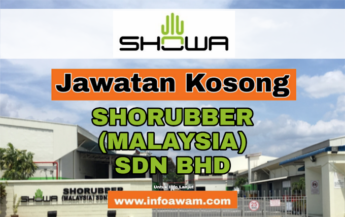 Jawatan Kosong Terkini Di SHORUBBER (MALAYSIA) SDN BHD