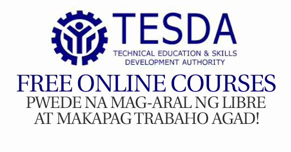 How to Enroll Free Tesda Courses Online Program