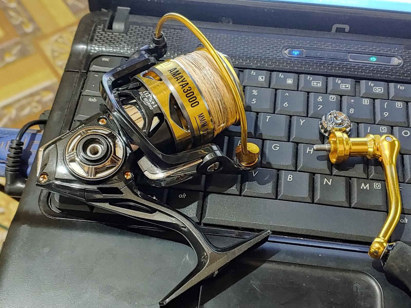Review dan Spesifikasi Reel Spinning Fugu Amaya