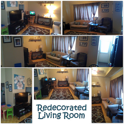 POD: Redecorated Living Room