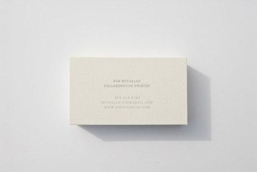 Kim Michalak Business card