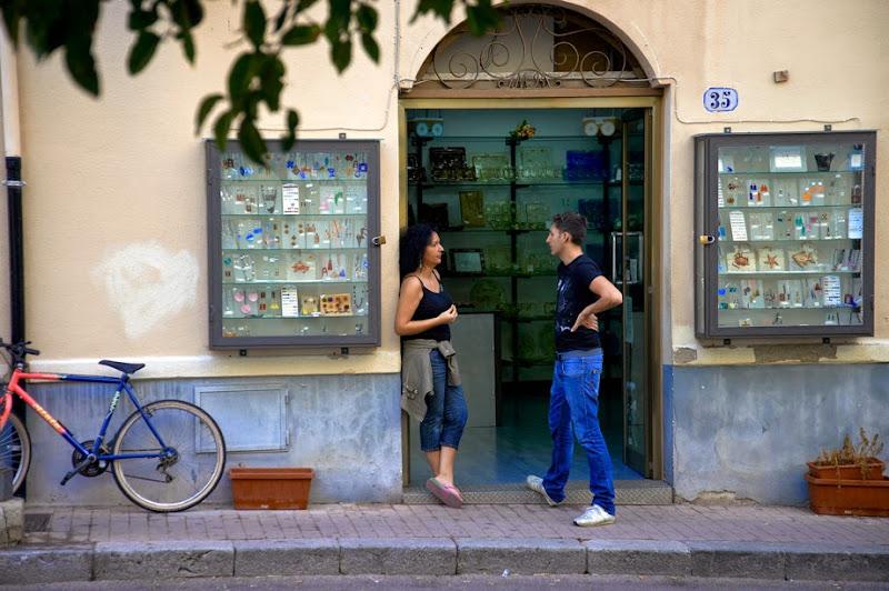 20. At Souvenir Shop. Cefalu. Sicily. 2013
