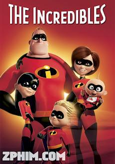 Gia Đình Siêu Nhân - The Incredibles (2004) Poster