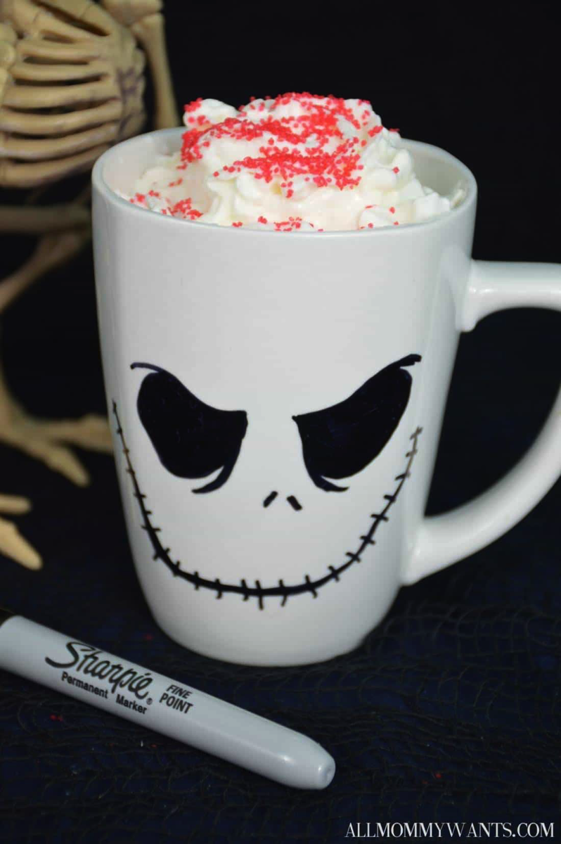 jack skellington DIY mug