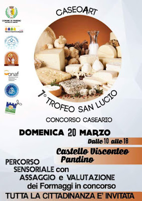 Trofeo San Lucio, concorso caseario 20 Marzo Pandino CR