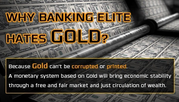 Why banking elite hates gold standard - Bitcoin Is Scam