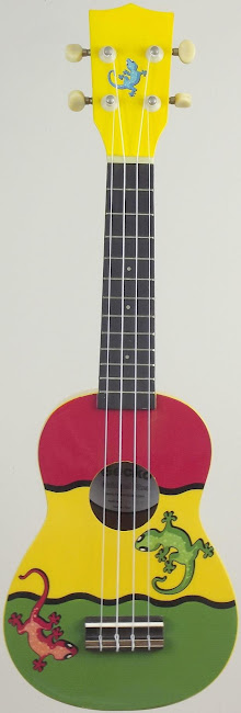 Mainland Reggae Gecko Acoustic Soprano Ukulele