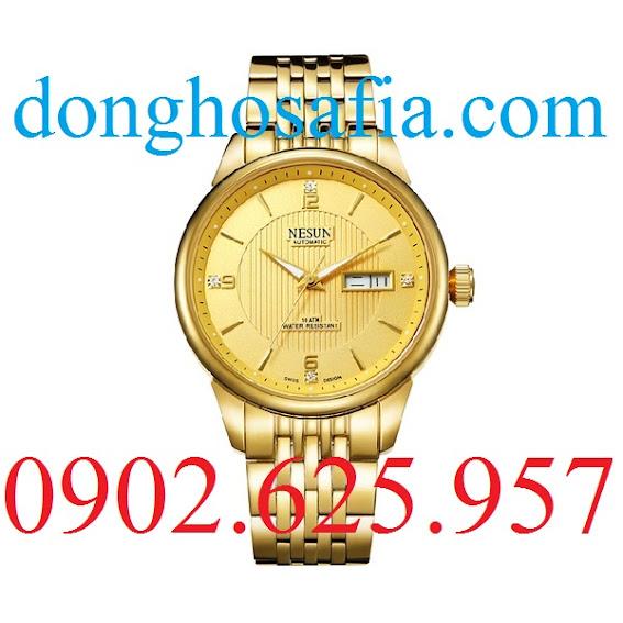 Đồng hồ nam cơ Nesun 9162