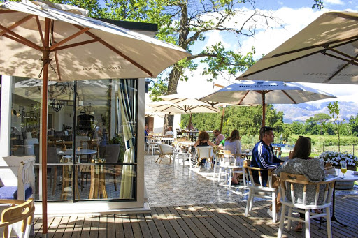 Boschendal Wine Estate's The Werf restaurant, which sources food solely from its own garden and farm. Picture: SUPPLIED