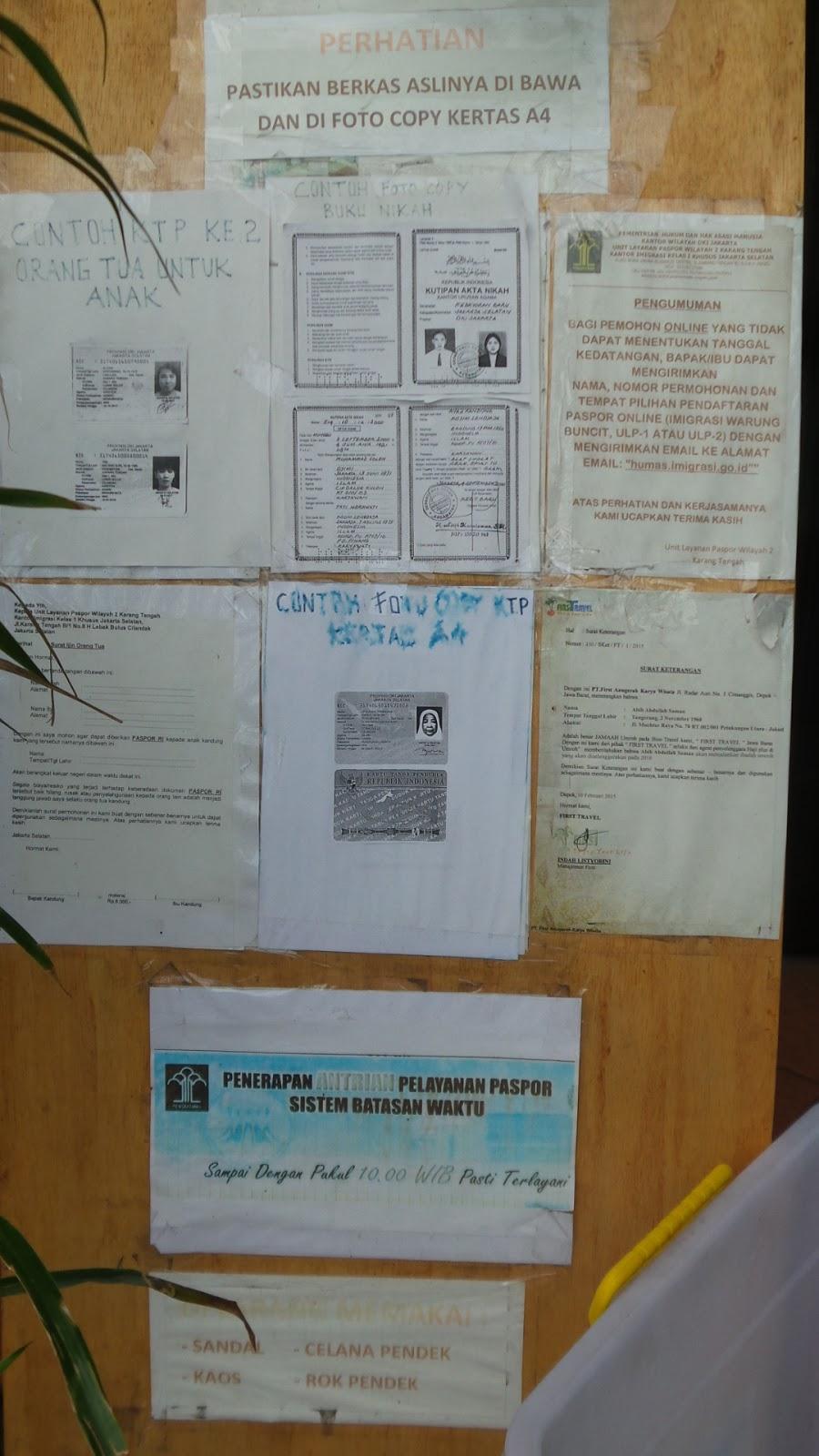 Contoh Fotocopy Buku Nikah Untuk Paspor Backup Gambar