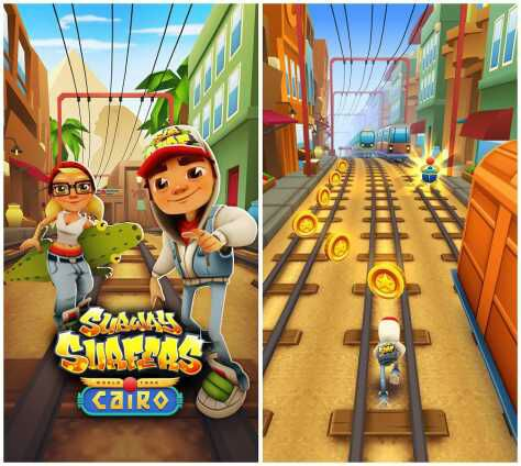 Download Subway Surfers for Java – Latest JAR, JAD File