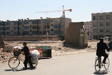 Rue Yaowangmiao : chantier