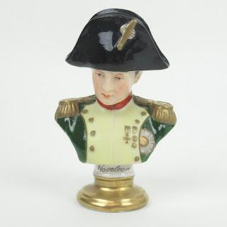 Rudolf Kämmer Porcelain Miniature Napoleon Bust