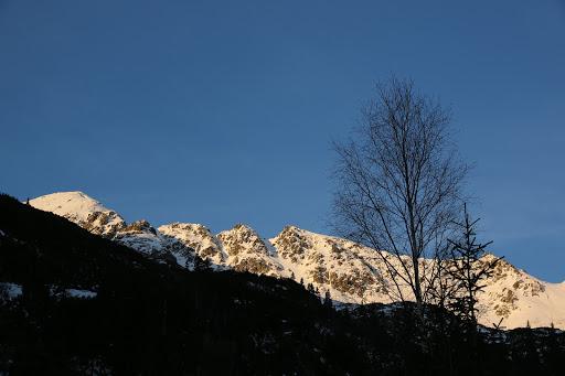 Hrubá kopa a Tri kopy sponad Žiarskej chaty