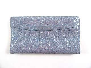 Tusk Embossed Leather Clutch Wallet