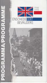 Programmaboekje van de bevrijdingsfeesten van 1995 voor de bevrijders en hun gastgezinnen. http://www.secondworldwar.nl/enschede/