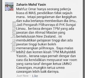 Salah Muhyiddin Yasin Kekalahan Di Sg Limau? Luah Penyokong Umno