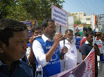 RTS Agitation by Karur Loksatta Party - Jan 31,2014