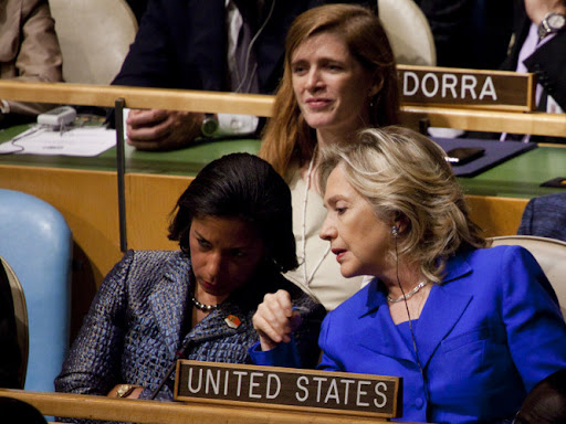 Hillary Susan Rice samantha powers US policy UN