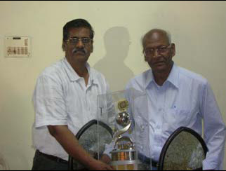 A.N. Rao & V.N. Rao Winner IMP Pairs with the MNC Trophy