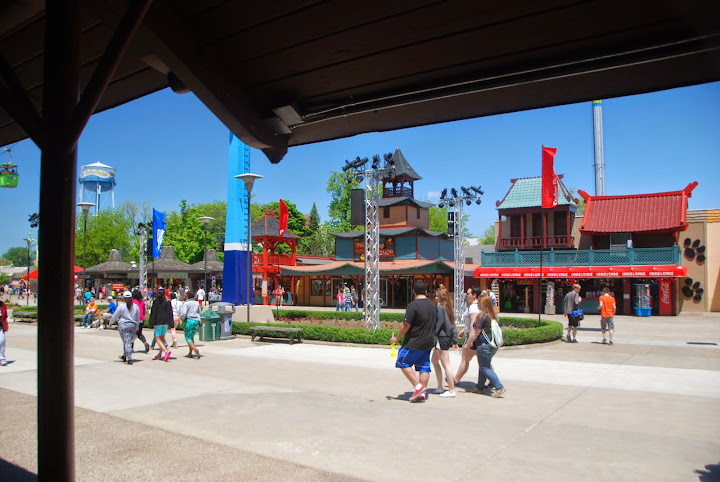 Walkways at Cedar Point - completely accessible