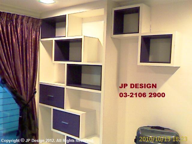 JP DESIGN Bookshelf cabinet for study room in Malaysia Selangor