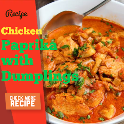 Chicken Paprika with Dumplings Recipe