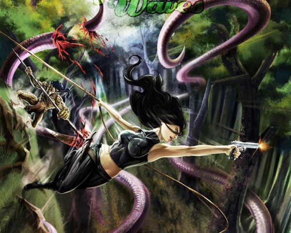 Angry Baroness Of Sins, Dark Goddess