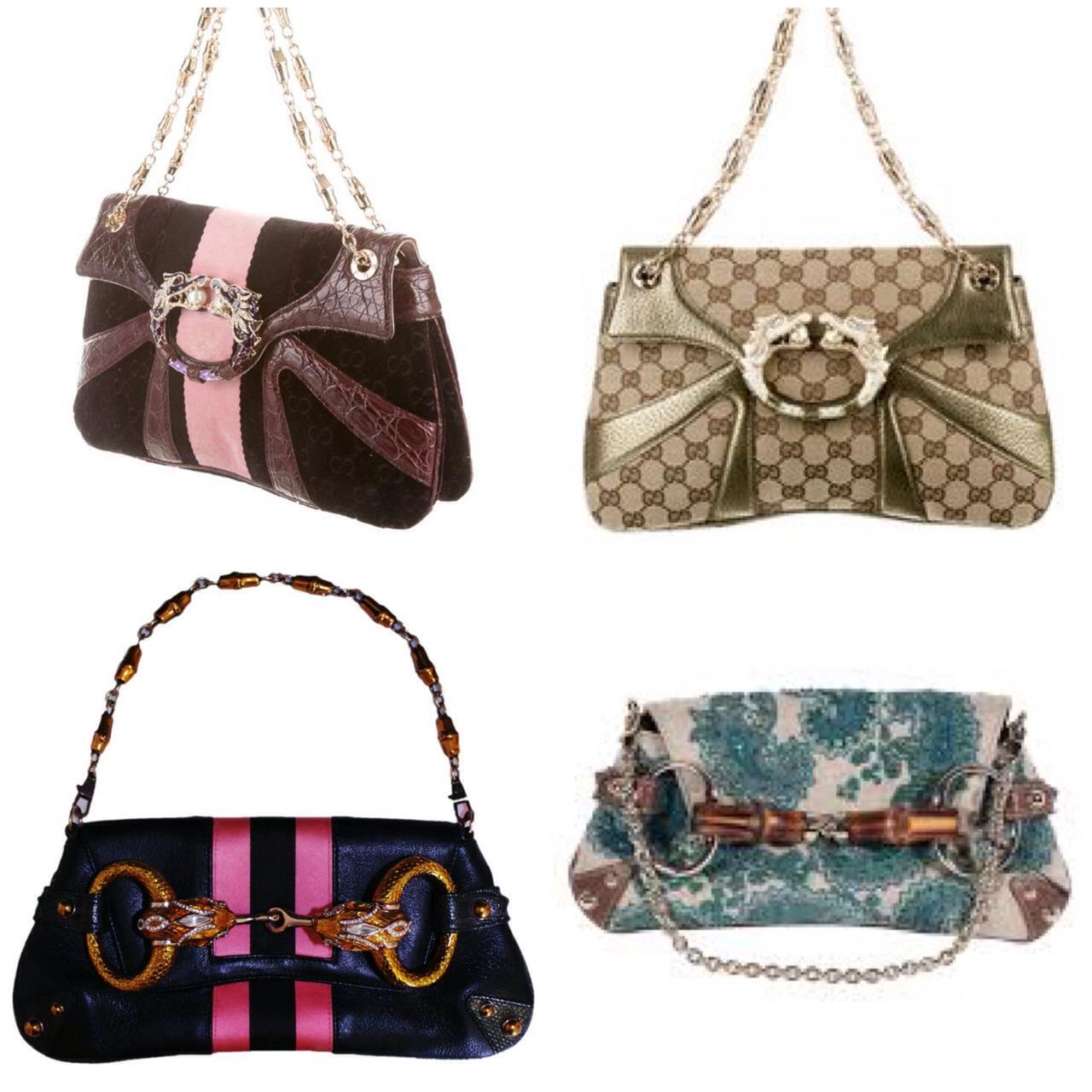 76cc9409e42 That prompted me to google up Gucci Tom Ford handbags and wow! Where was I  when these handbags came out !