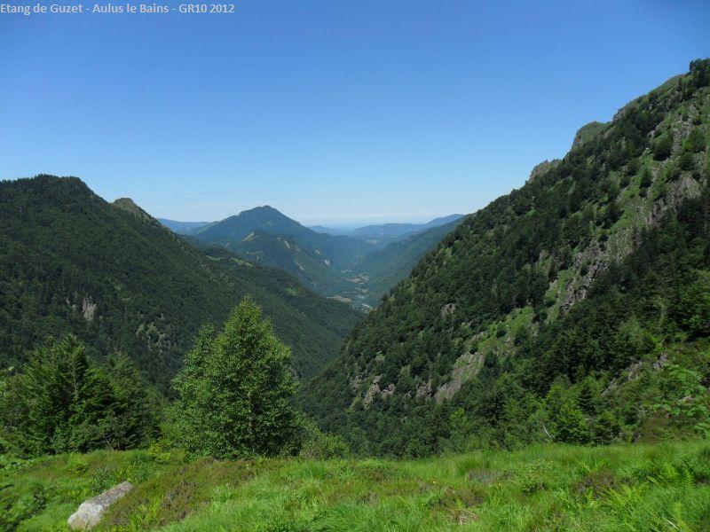 Talblick Aulus-les-Bains