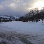 Heureusement le chasse neige vient de nous dégager la route