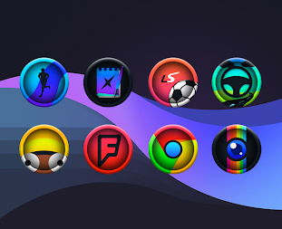 Ravic - Icon Pack APK screenshot thumbnail 1