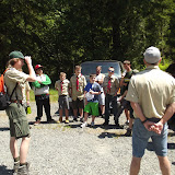 Meeting our Camp Guide