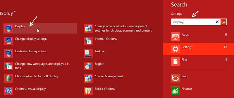 การปรับเปลี่ยนขนาดการแสดงผลของตัวอักษร Windows 8 W8font02