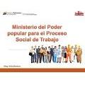 Resolución mediante la cual se designa a Ana Maria Lucas Ramírez, como Directora Estadal Táchira del Ministerio del Poder Popular para el Proceso Social de Trabajo