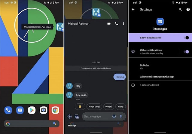 اهم 10 مميزات متوفره فى نظام التشغيل الجديد من جوجل اندرويد android 11