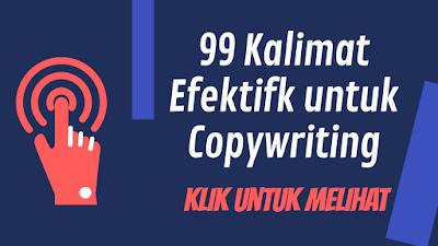 99 Kalimat Efektif Copywriting