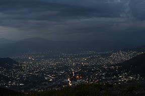 A Complete Nightscape Of Aqba, Saidu Sharif, Faizabad, Amankot, Mingora