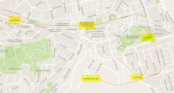 La línea 7B del Metro cierra temporalmente entre las estaciones de La Rambla y Hospital del Henares