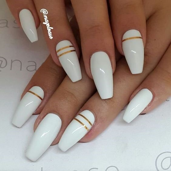 Glamorous Gel Nails Designs 2018 Style You 7