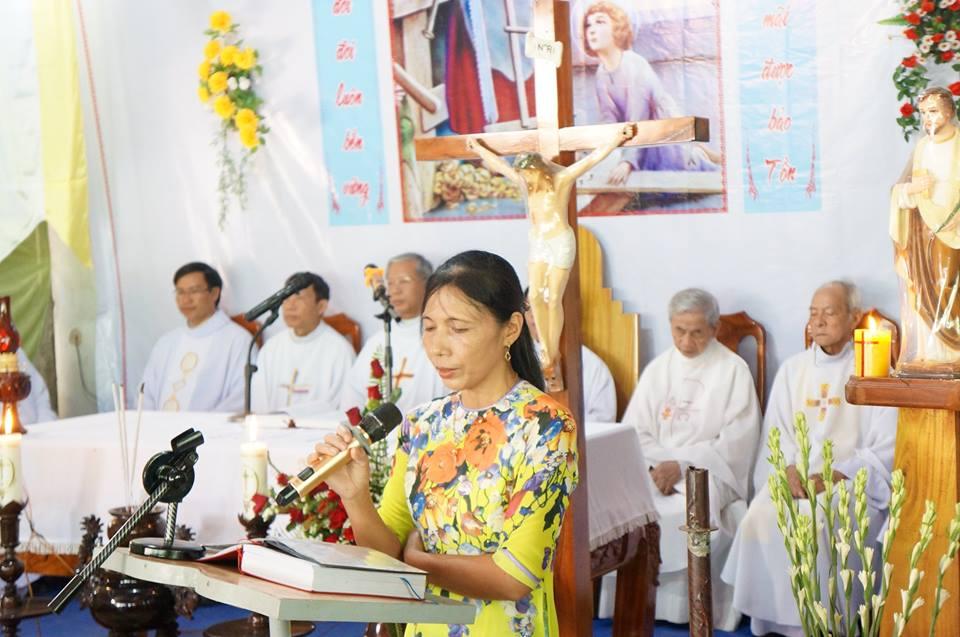 Giáo họ Ba Tơ, Giáo xứ Bàu Gốc mừng lễ bổn mạng Thánh Giuse Thợ