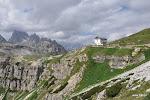 Forcella Longeres 2320 mnpm Rifugio Auronzo