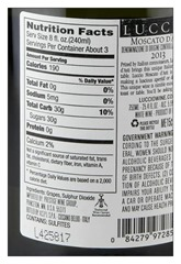 moscato-label-nutrition